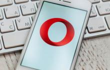 Opera auf dem Handy