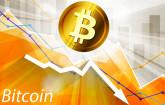 Bitcoin Talfahrt
