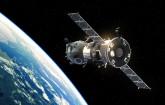 Satellit im Weltall