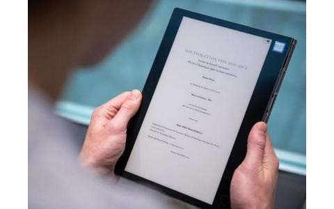 Das Yoga Book als E-Reader