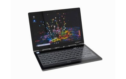 Das Lenovo Yoga Book C930 ist  Laptop, digitaler Notizblock und E-Reader in einem
