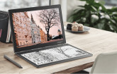 Lenovo Yoga Book C930 auf dem Schreibtisch