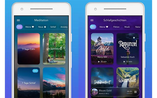 Calm Meditations- und Schlaf-App