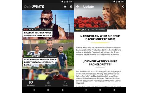 DeinUpdate Nachrichten-App