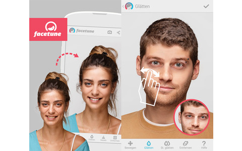 Facetune Selfie-App