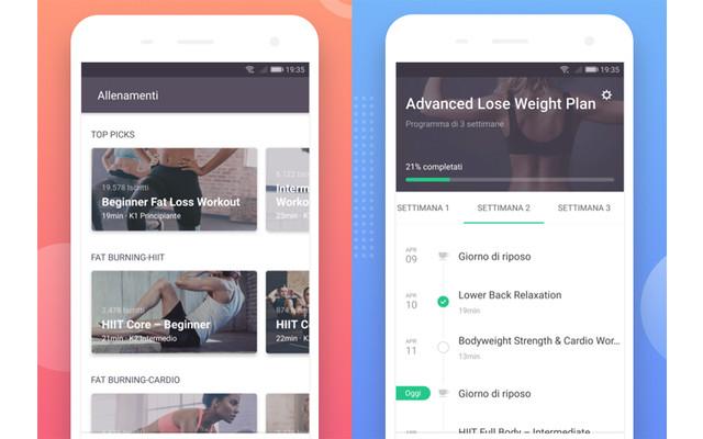 Fitness-App Keep