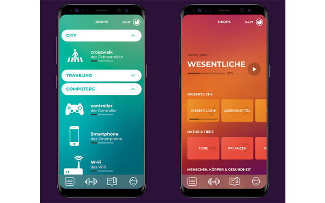 Drops - Lern-App