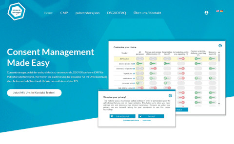 Consentmanager Screen