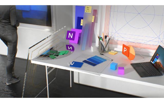 Microsoft Office Icons für Powerpoint und Word