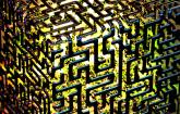 3D Abstact für Quanten Computing
