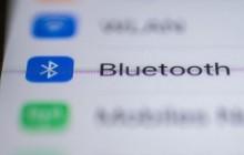 Bluetooth auf dem Handymenü