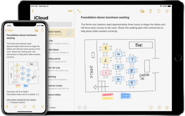 Apple-Notiz-App
