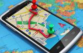 Navigation auf dem Smartphone