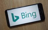 Bing-Suche auf dem Smartphone