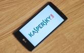 Kaspersky-App auf dem Smartphone