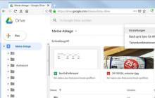 Schnellzugriff in Google-Drive