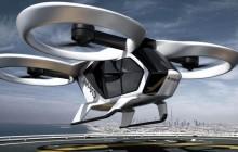 Konzeptfoto des neuen Airbus-Lifttaxis
