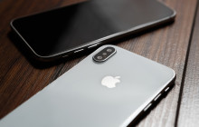 Apple-Logi auf dem iPhone XS