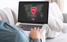 VPN-Software auf dem Notebook
