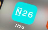 N26-App auf Smartphone