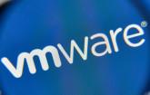VMware-Logo unter der Lupe