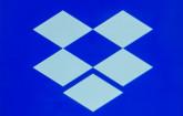 Dropbox-Logo auf Smartphone-Bildschirm