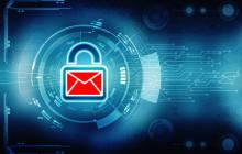 Sichere E-Mail mit Vorhängeschloss