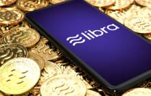Facebook-Währung Libra auf dem Smartphone