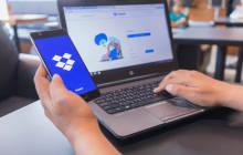 Dropbox auf Notebook und Smartphone