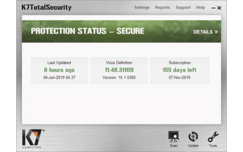 K7 Computing TotalSecurity