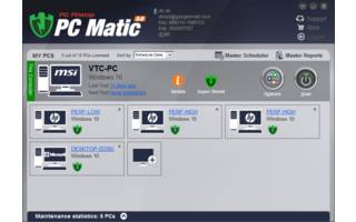 PC Pitstop PC Matic