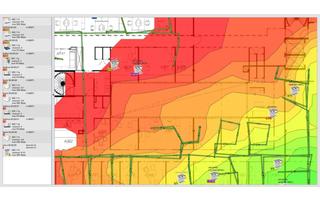 Ekahau Heatmapper ermittelt den perfekten Standort für Ihre WLAN-Geräte.