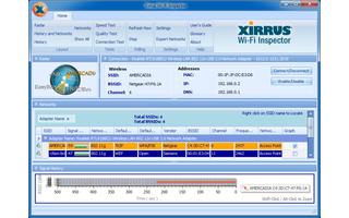 Wifi Inspector hilft Ihnen, Ihr eigenes drahtloses Netzwerk  und fremde WLANs in der näheren Umgebung im Auge zu behalten und zu analysieren.