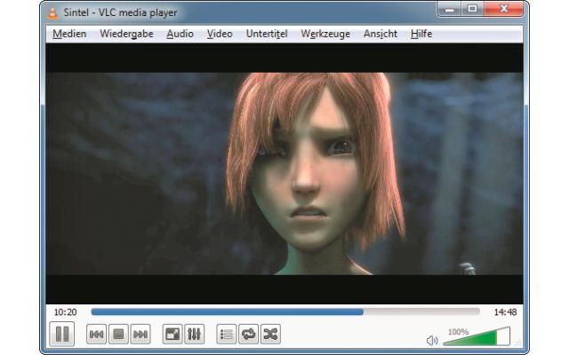 Platz 1 – VLC Media Player: Es gibt kaum ein Audio- oder Videoformat, das der Player nicht abspielt.