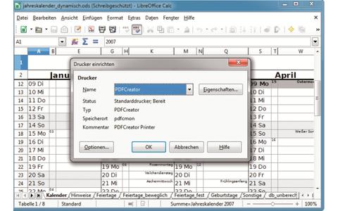 Platz 7 – PDF Creator: Nutzen Sie den virtuellen Drucker, um ein beliebiges Dokument als PDF zu speichern