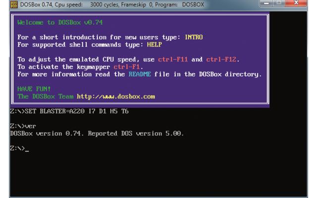 Platz 11 – DOS-Box: Der DOS-Emulator lässt die Herzen von Nostalgikern höher schlagen