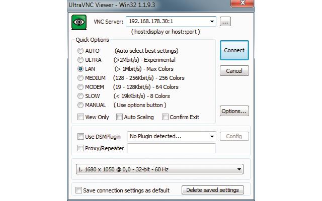 Platz 22 – Ultra VNC: Mit dem VNC-Client lässt sich ein beliebiger Rechner von einem anderen Rechner aus fernsteuern