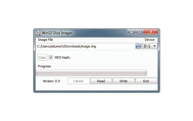 Platz 25 – Win32 Disk Imager: Das Tool erzeugt Images von USB-Sticks und Speicherkarten