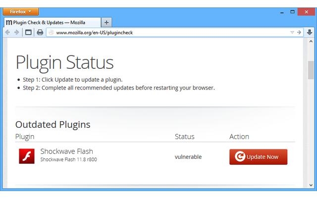 Firefox-Plug-ins prüfen