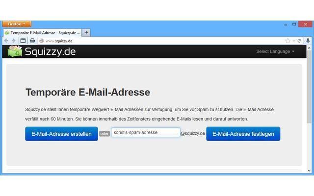 Wegwerf-Adressen als Spam-Schutz