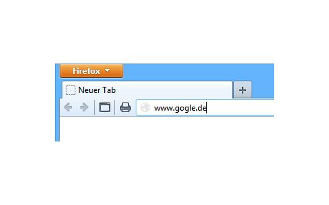 Tippfehler-URLs