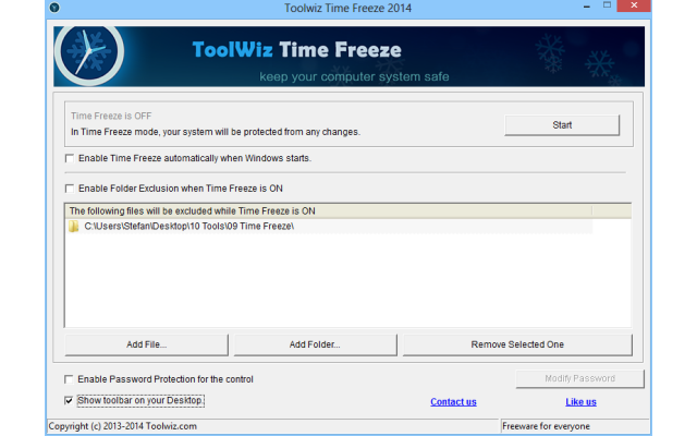 Time Freeze überführt Ihr laufendes Windows-System einfach auf Knopfdruck und in erstaunlich kurzer Zeit in eine virtuelle Umgebung.