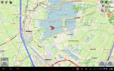 OsmAnd Karten & Navigation ist eine Landkarten-App, die auf dem kostenlosen OpenStreetMap-Kartenmaterial basiert. Alle Karten lassen sich zur Offline-Nutzung auf dem Smartphone oder Tablet speichern.