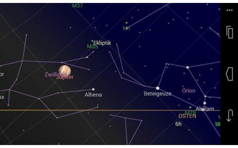 Sky Map zeigt Ihnen, welche Sterne am Firmament prangen. Richten Sie in lauschigen Sommernächten einfach Ihr Smartphone auf den Nachthimmel und schon zeigt Ihnen die Sternkarte dieser App, welche Planeten, Himmelskörper und Sternbilder Sie gerade sehen.