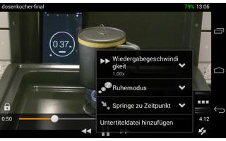 Für Android ist der Media Player bislang zwar nur in einer Betaversion verfügbar, doch auch auf Smartphones und Tablets spielt VLC inzwischen fast jedes Multimediaformat ab.