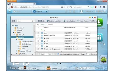 Dropbox für Qnap - Dropbox synchronisiert Dateien zwischen mehreren PCs und anderen Geräten im Netzwerk. Der Cloud-Speicher lässt sich auch mit Ihrem Qnap-NAS einrichten, um Dateien und Ordner zu synchronisieren.