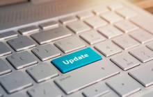 Update-Taste auf Tastatur