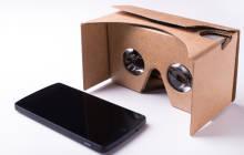 Google Cardboard mit Smartphone