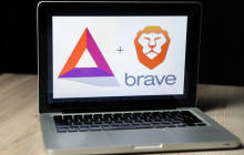 Brave-Browser auf dem Notebook