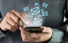 E-Mail-App auf dem Smartphone